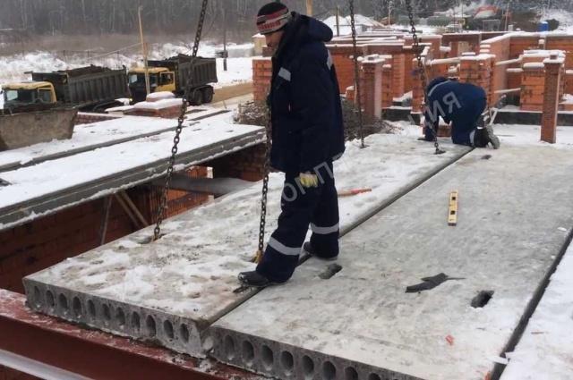 Монтаж жби плит конструкции железобетонных мостов